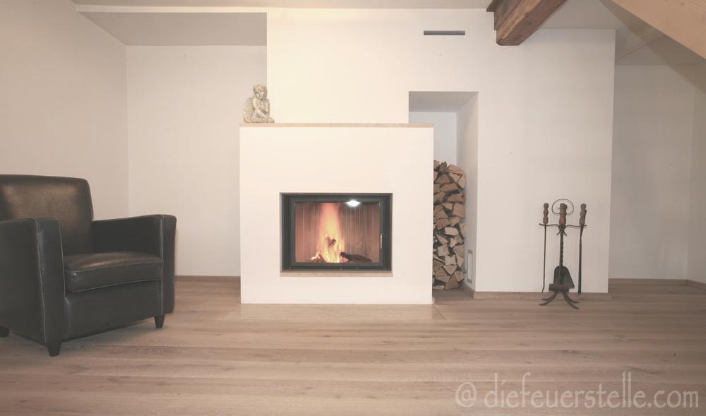 die feuerstelle ofen herd kaminbau flach kamin. Black Bedroom Furniture Sets. Home Design Ideas